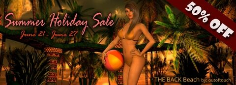 Summer Holiday Sale