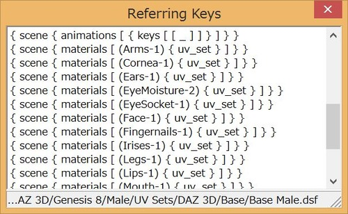 ReferringKeys
