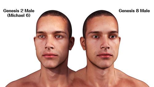 Michael 6 Genesis 8 Head