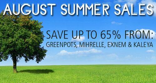 HOT Summer Deals from 4 great vendors!