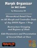 Morph Organizer for DAZ Studio