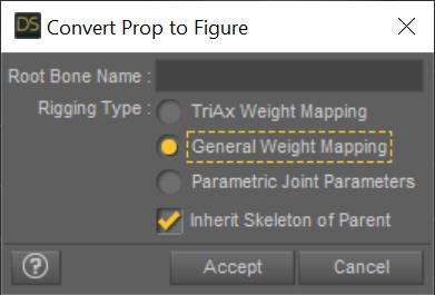 Convert Prop to Figure dialog