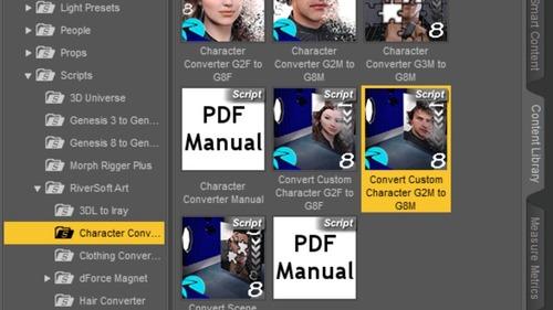 Convert Custom Character script