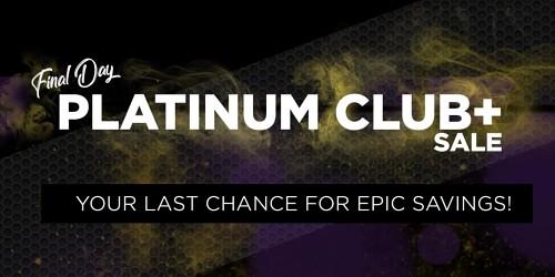 2020 Platinum Club Plus Sale