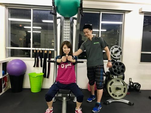 トレーニング筋力
