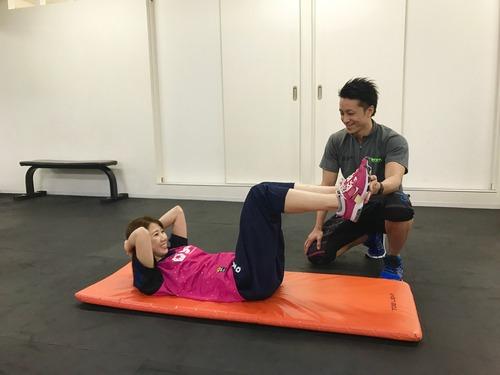 トレーニング腹筋