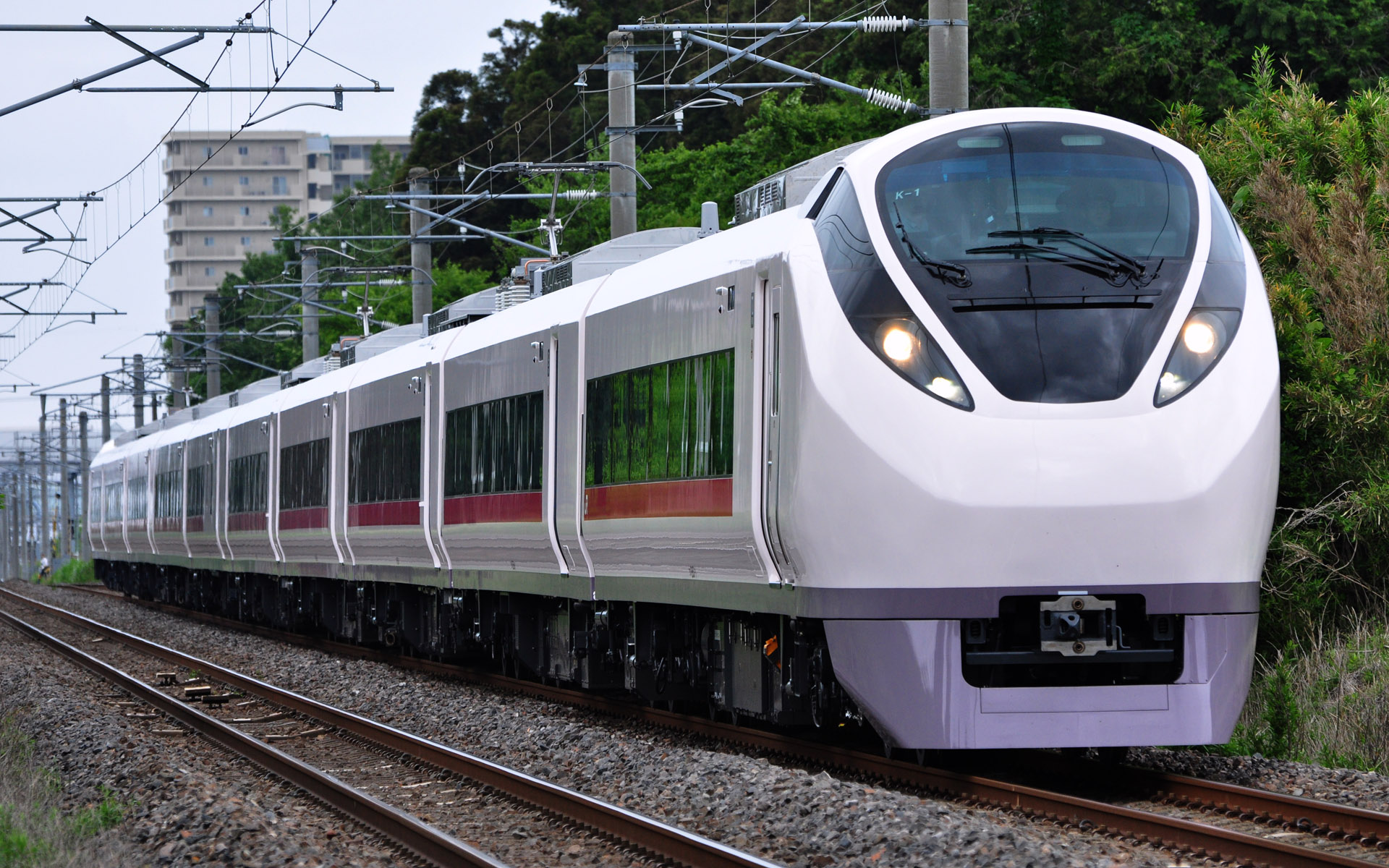 StudioLoasの楽屋裏:【鉄道】JR東日本E657系が試運転