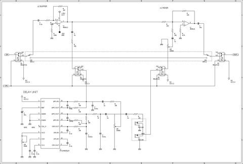 AshimotoSystem 壱号回路図DELAY