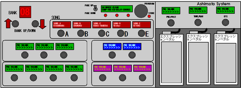 AshimotoSystem TUBE pedal