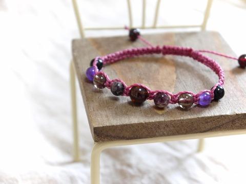 紫荒ガーネットブレス3