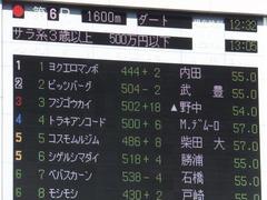 20161015 東京6R (500) ピッツバーグ 01
