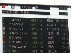 20190203 東京5R 3歳未勝利 ミヤコローズ 01
