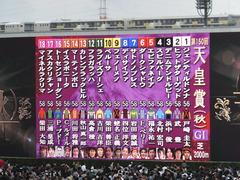 20141102 天皇賞(秋) サトノノブレス&ラブイズブーシェ 01