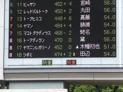 20160605 東京4R 3歳未勝利 ツボミ 01