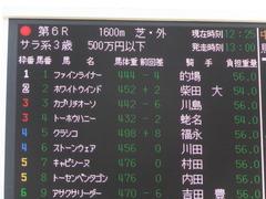 20150322 中山6R 3歳500万下 ファインライナー 01