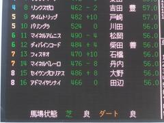 20170105 中山9R ジュニアC 3歳OP アドマイヤシナイ 01