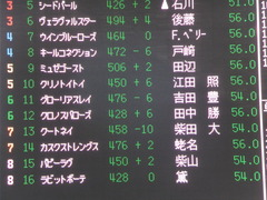 20150117 中山5R 3歳未勝利 グローリアスレイ 01