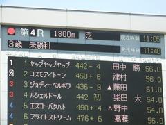 20190616 東京4R 3歳未勝利 ヤップヤップヤップ 01