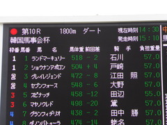 20150321 中山10R 韓国馬事会杯 ショウナンアポロン  01
