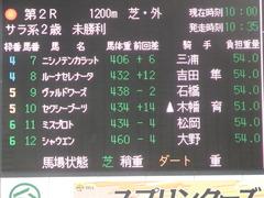 20180922 中山2R 2歳牝馬未勝利 ヴァルドワーズ 01