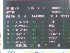 20190113 中山9R 黒竹賞(500) ロークアルルージュ 01