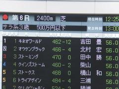 20140531 東京6R オウケンブラック 01