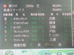 20190324 中山10R 美浦S(1600) オウケンブラック 01