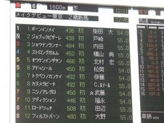 20181110 東京6R 2歳メイクデビュー カヌメラビーチ 02