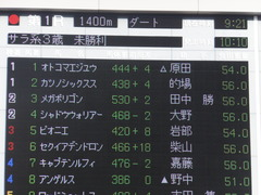 20170205 東京1R 3歳未勝利 メガポリゴン 01