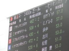 20181209 阪神9R オリオンS(1600) ホウオウドリーム 02