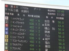 20140907 札幌4R キングラナキラ 01