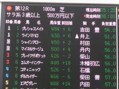 20151213 中山12R 3歳上500万下 マイネルサージュ 01