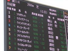 20150328 中山11R 日経賞(G2) ラブイズブーシェ 01