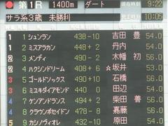 20190512 東京1R 3歳未勝利 ハクシンドリーム 01