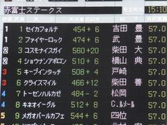 20151031 東京10R 赤富士S ショウナンアポロン 01