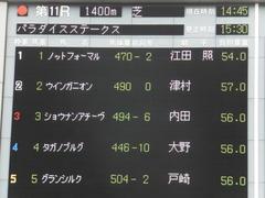 20170625 東京11R パラダイスS 3歳上(OP) ショウナンアチーヴ 01