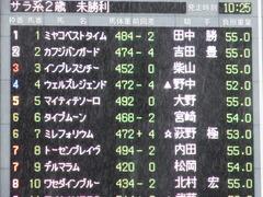 20171022 東京2R 2歳未勝利 マイティテソーロ 01