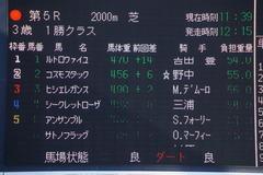 20200105 中山5R 3歳1勝クラス ルトロヴァイユ 01