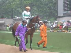 20110507 東京 ダイボサツ3戦目 見納めのメジロの勝負服