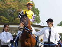 20151024 京都1R 2歳未勝利 サクレメジャー 10