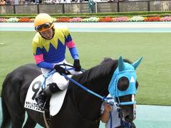 20151010 東京4R 3歳上障害未勝利 サウンドアラムシャ 09