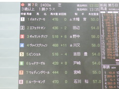 20190810 新潟7R 3歳1勝クラス ウェディングベール 01