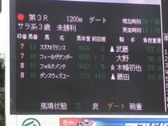 20170909 中山3R 3歳未勝利 ダンスウィズユー 01