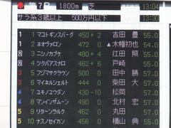 20151012 東京7R 3歳上500万下 ツクバアスナロ 01