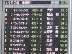 20171022 東京3R 2歳未勝利 マイネルスリーディ 01