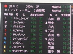 20170108 中山6R 3歳メイクデビュー バトルオスカー 01