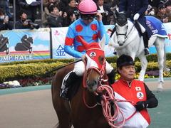 20170211 東京9R テレビ山梨杯(牝1000) レーヌドブリエ 20