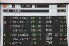 20191020 東京2R 2歳未勝利 プントファイヤー 01