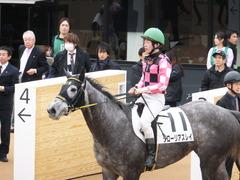 20150315 中山5R 3歳未勝利 グローリアスレイ 16
