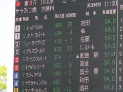 20150425 京都4R 3歳未勝利 レーヌドブリエ 02